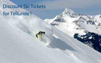 Telluride ski resort discount ski tickets and by owner lodging